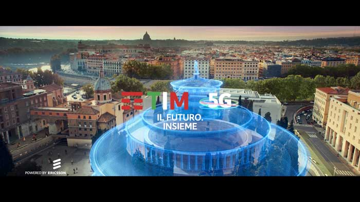 pubblicità TIM 5g con Riccardo Muti