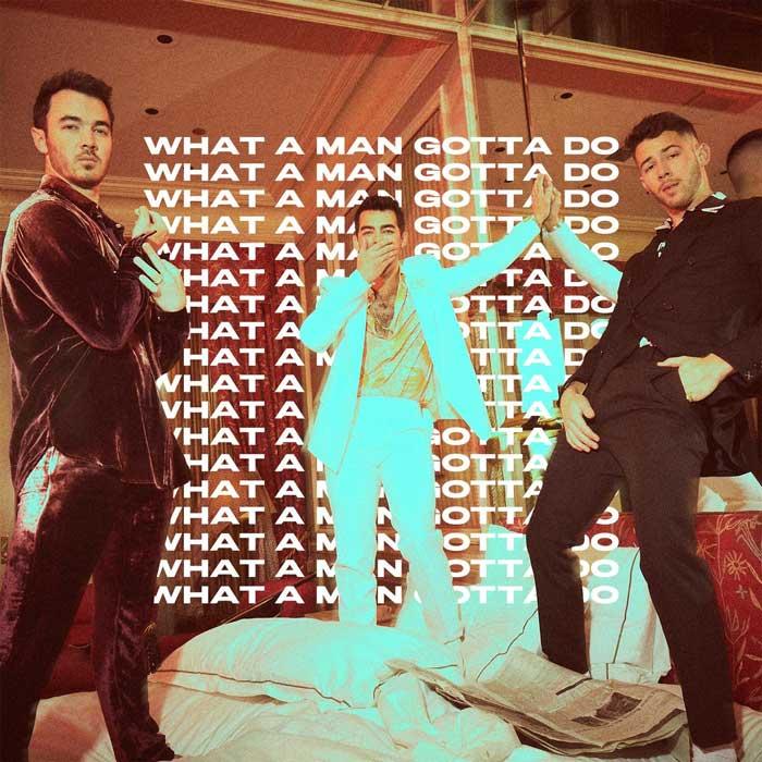 What A Man Gotta Do copertina brano
