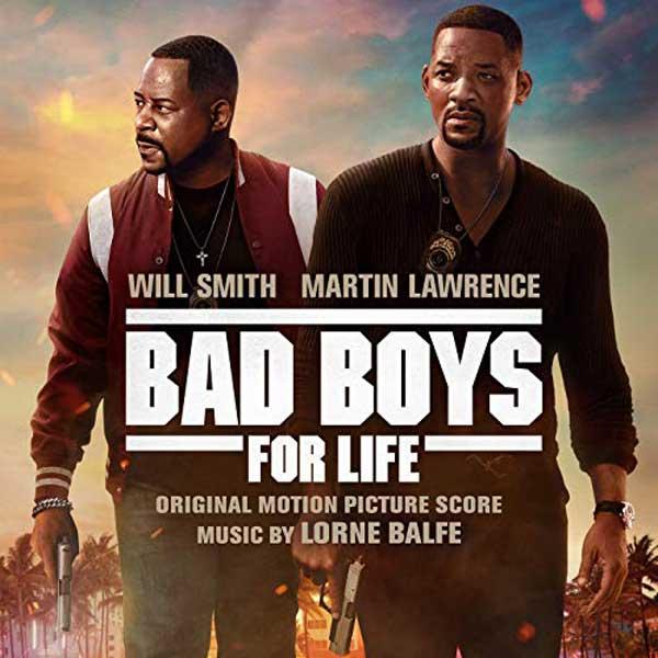 copertina Original Motion Picture Score di bad boys for life 2020