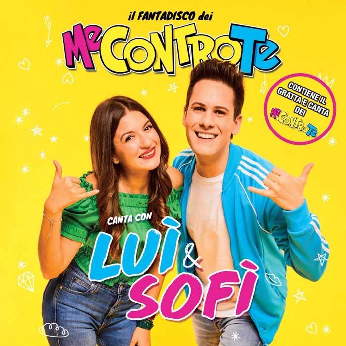 copertina album Il Fantadisco Dei Me Contro Te Canta Con Luì & Sofì