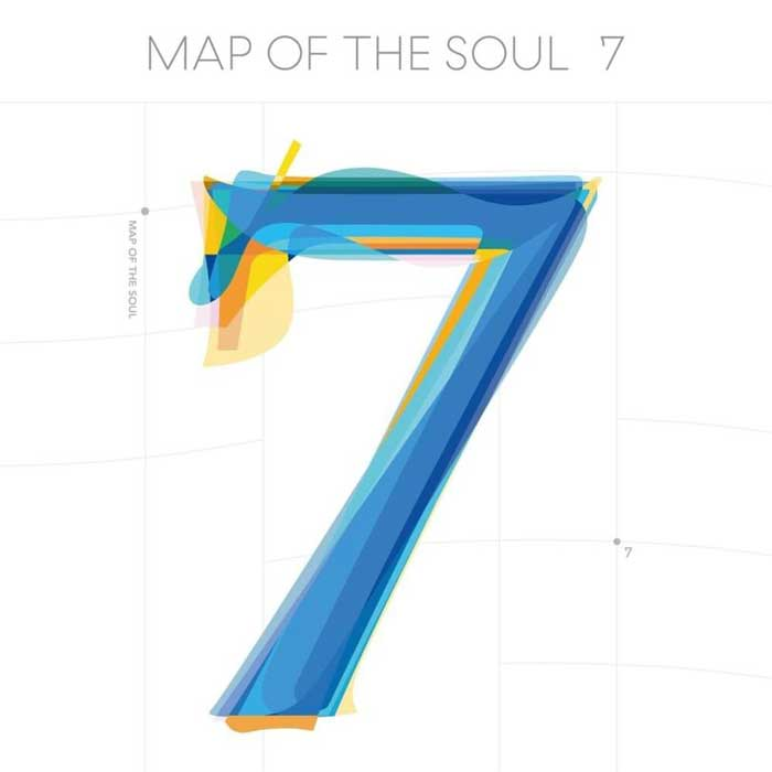 copertina album Map of The Soul