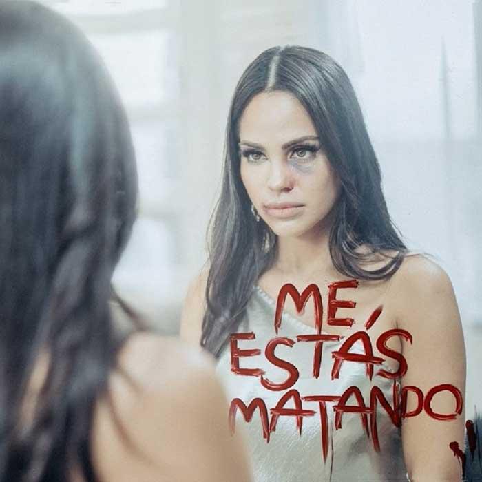 copertina canzone Me Estás Matando
