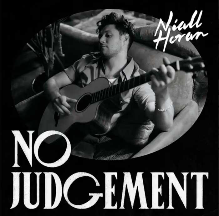 copertina canzone No Judgement