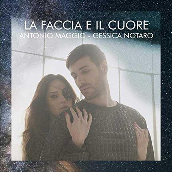copertina canzone La faccia e il cuore