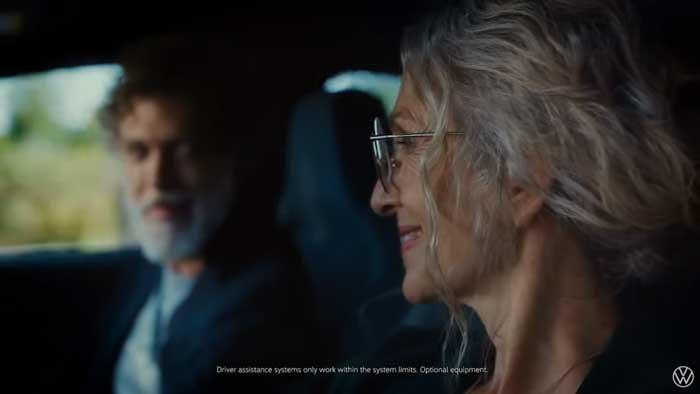 pubblicità volkswagen golf 8 2020