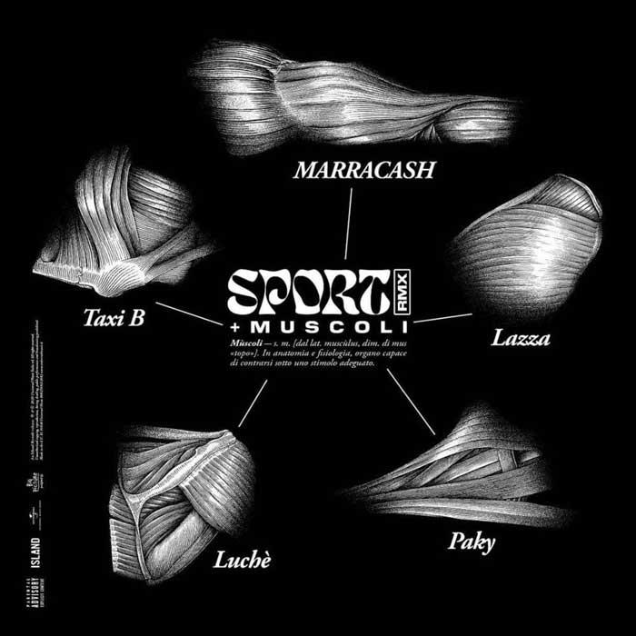 sport remix copertina brano