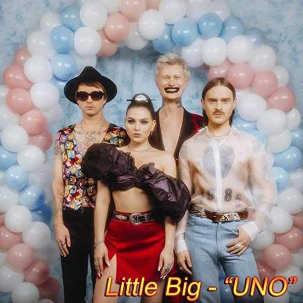 copertina canzone uno by little big