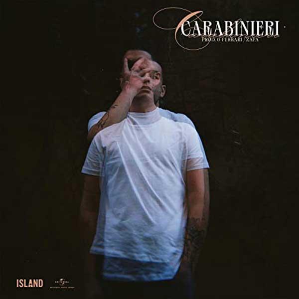 copertina canzone carabinieri by pretty solero