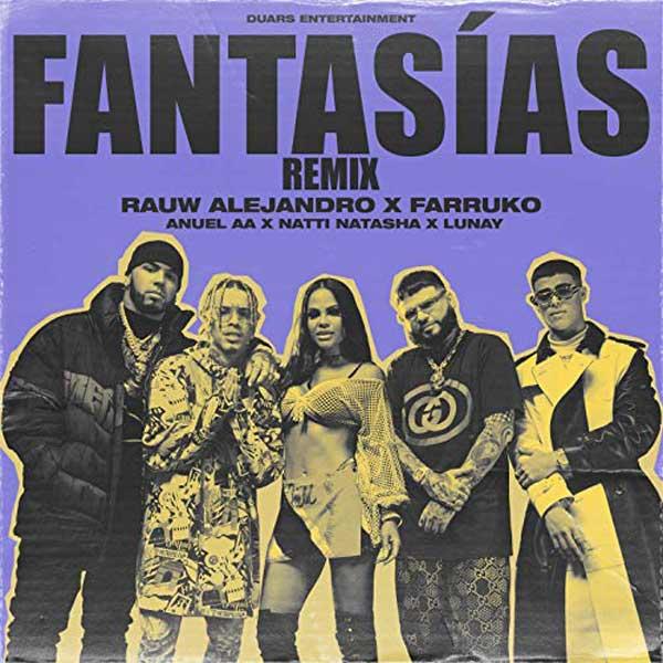 copertina della canzone fantasias remix