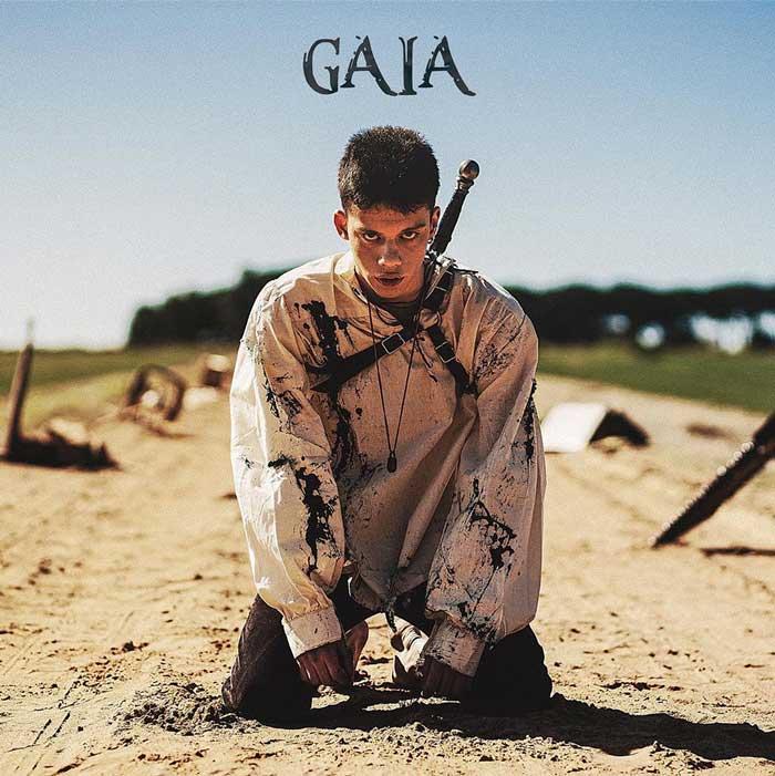 gaia copertina canzone leon
