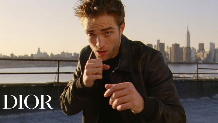 pubblicità dior homme 2020 Robert Pattinson