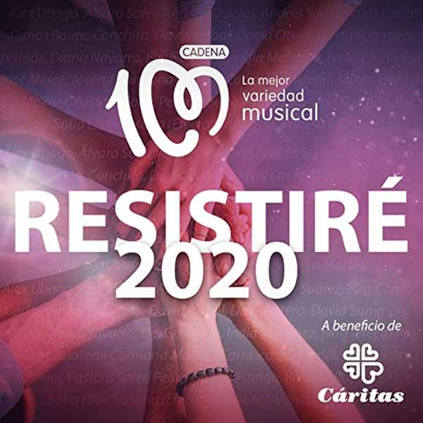 copertina canzone Resistiré 2020