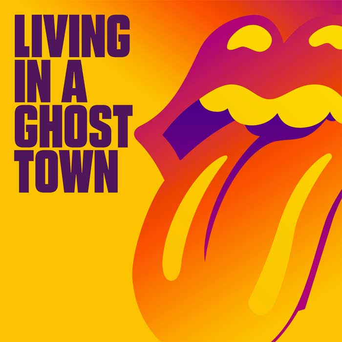 copertina canzone Living In A Ghost Town