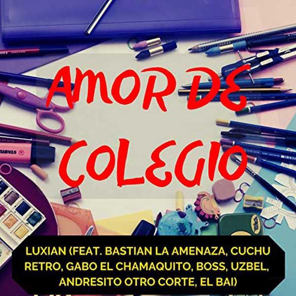 copertina canzone Amor de Colegio
