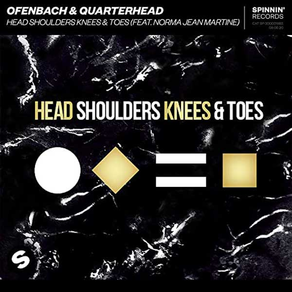 copertina brano Head Shoulders Knees & Toes