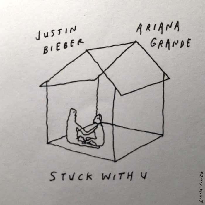 Stuck with U justin bieber ariana grande