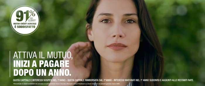 pubblicità Crédit Agricole 2020