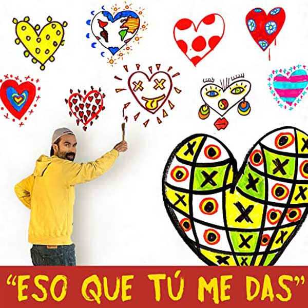 copertina canzone Eso que tú me das