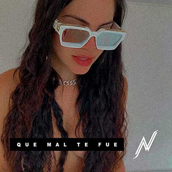 copertina canzone Que Mal Te Fue