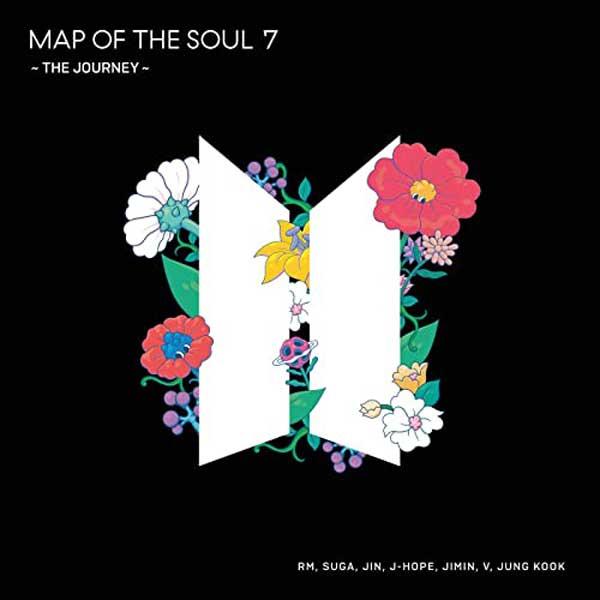 copertina album map of the soul 7 the journey