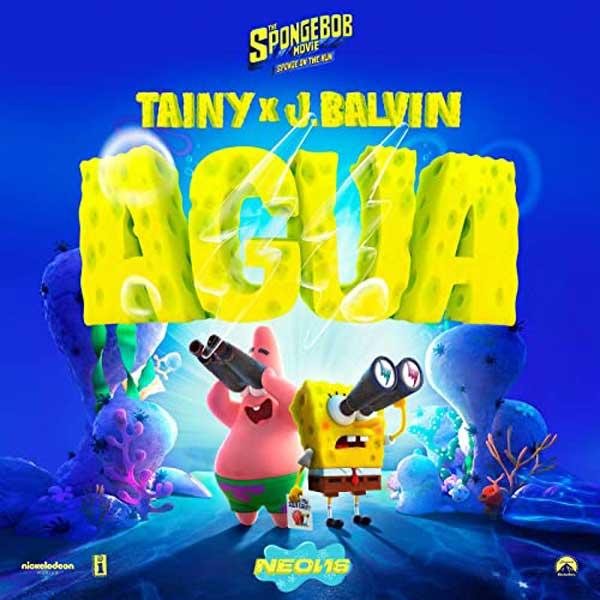 copertina brano Agua