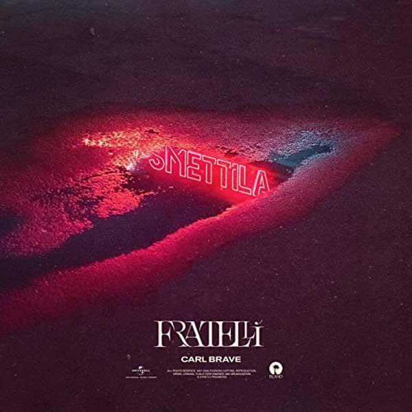 copertina canzone fratellì