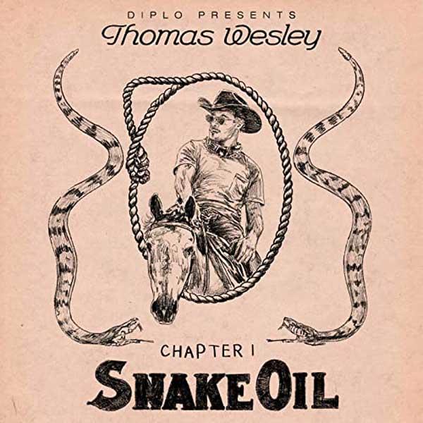 copertina Diplo Presents Thomas Wesley Chapter 1 Snake Oil