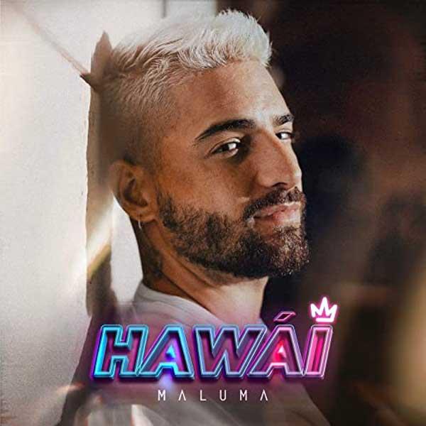 Hawái copertina brano maluma