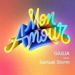 copertina canzone giulia luzi mon amour
