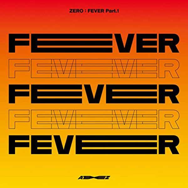 copertina album ZERO : FEVER Part.1