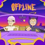 copertina brano offline by tha supreme