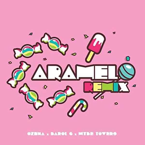 copertina brano caramelo remix