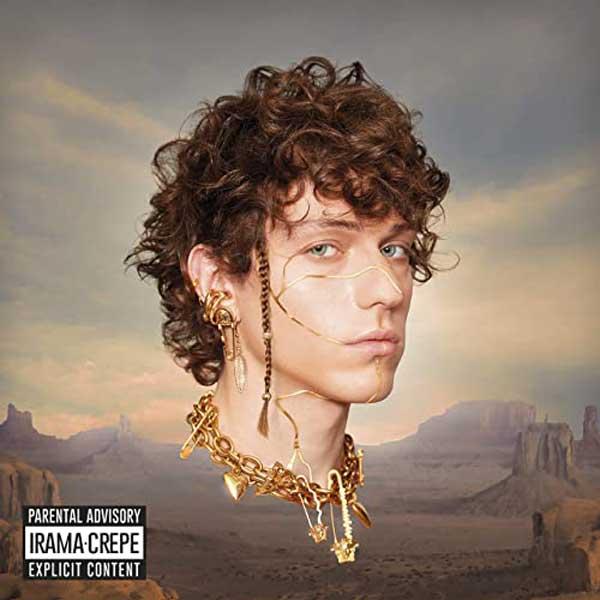 copertina ep crepe by irama