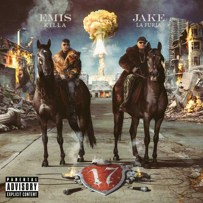 copertina album 17 di Emis Killa e Jake La Furia