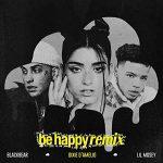 copertina canzone be happy remix