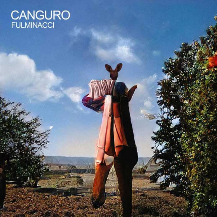 Canguro copertina brano Fulminacci