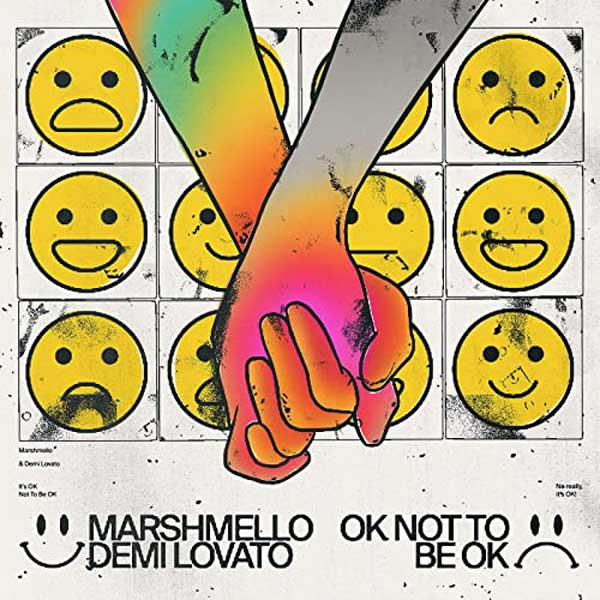 copertina brano OK Not To Be OK