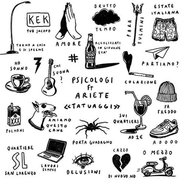 copertina brano tatuaggi