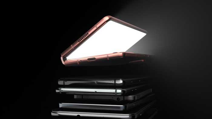 pubblicità Samsung Galaxy Z Fold 2