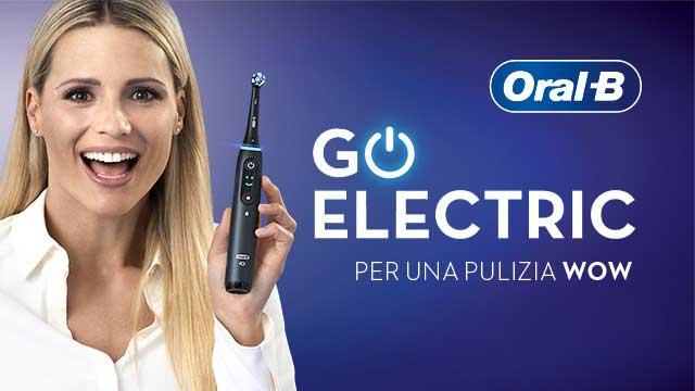 pubblicità spazzolino elettrico oral b 2020 con Michelle Hunziker