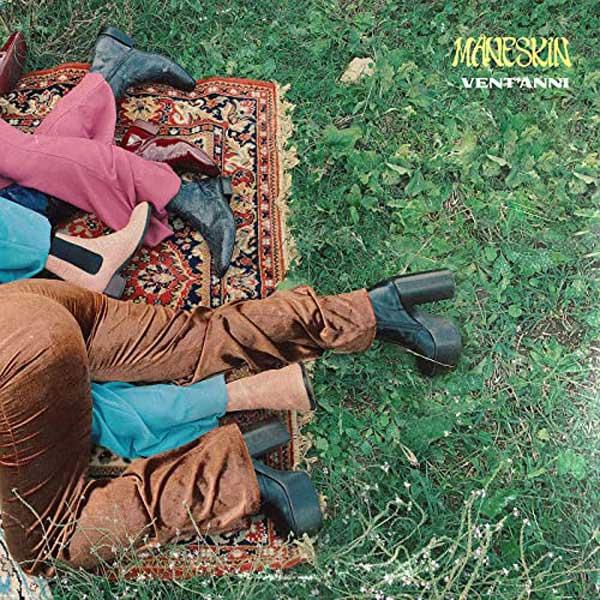 vent'anni copertina brano maneskin