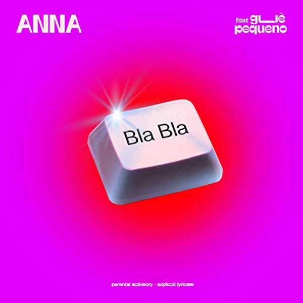 copertina canzone bla bla by anna pepe