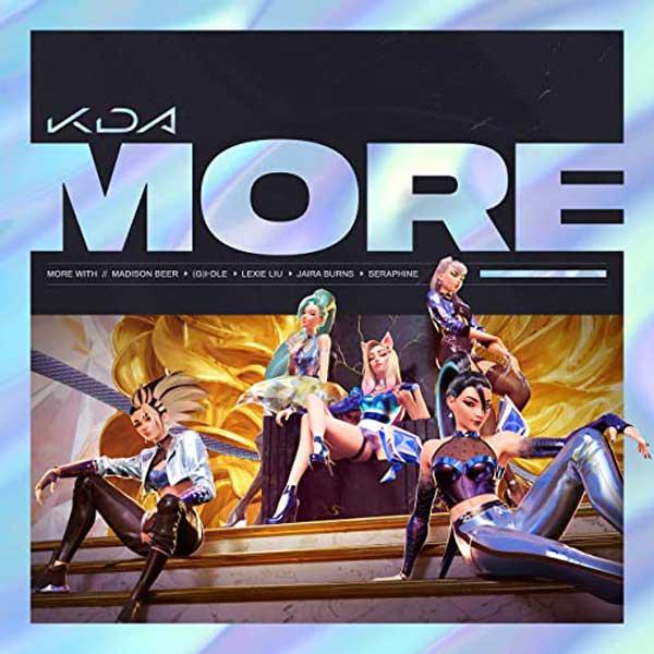 copertina brano more delle kda