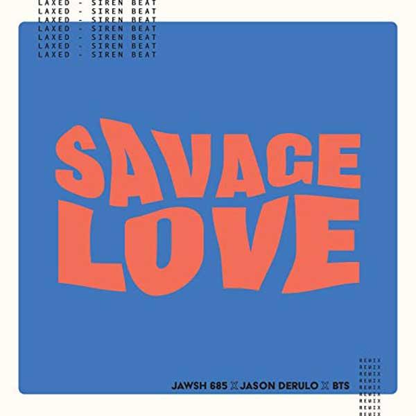 copertina canzone savage love bts remix