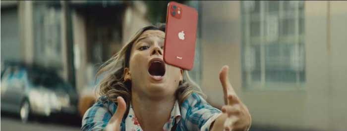 pubblicità iphone 12 luglio 2021