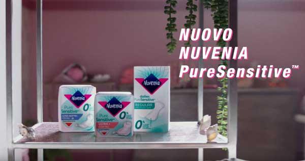 pubblicità Nuvenia pure sensitive 2020