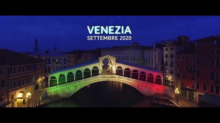 pubblicità tim smart city venezia ottobre 2020