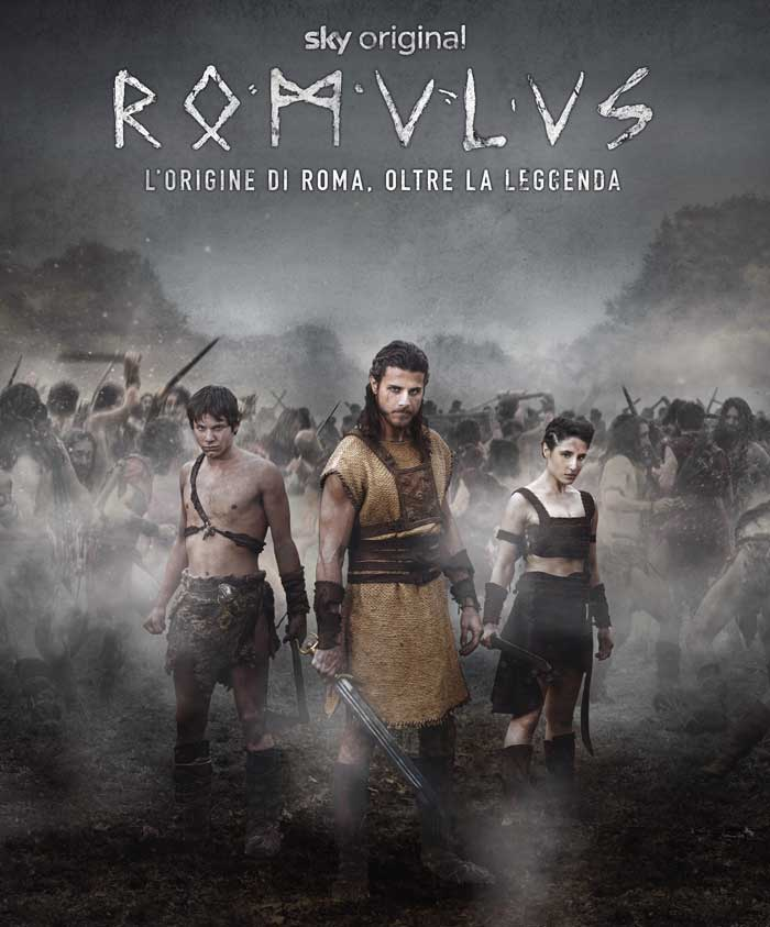poster serie tv romulus