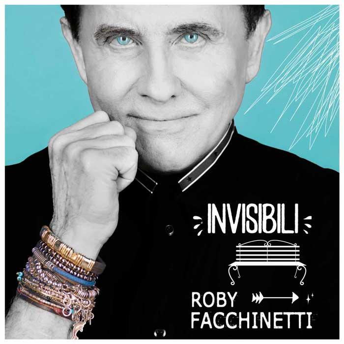 invisibili copertina canzone Roby Facchinetti