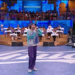 San Giovanni canta Gucci Bag ad Amici 20